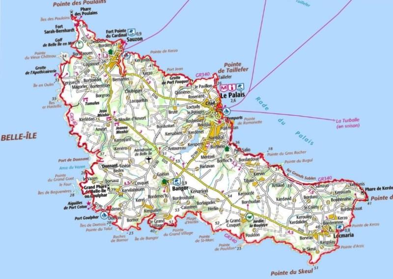 Tour de belle ile en mer pied en 4 jours 1 4 - Office de tourisme de belle ile en mer ...