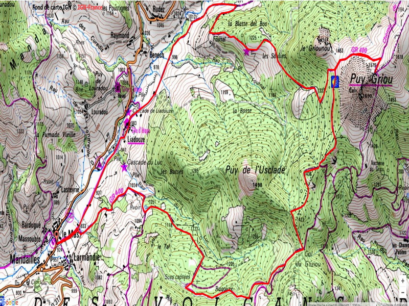 parcours usclade puy griou